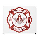 Colorado Masons Fire Fighters Mousepad