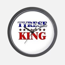 TYRESE for king Wall Clock