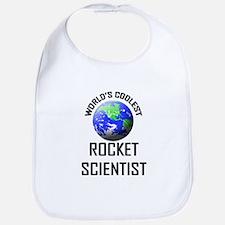 World's Coolest ROCKET SCIENTIST Bib