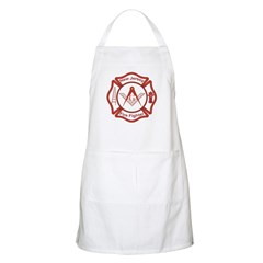 New Jersey Masons Fire Fighters BBQ Apron