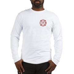 New Jersey Masons Fire Fighters Long Sleeve T-Shir
