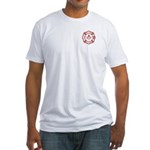 New Jersey Masons Fire Fighters Fitted T-Shirt