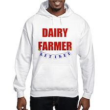 Retired Dairy Farmer Hoodie