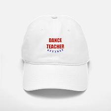 Retired Dance Teacher Baseball Baseball Cap