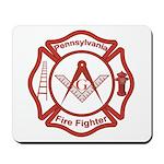 Pennsylvania Masons Fire Fighters Mousepad