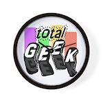 Cool Colors Total Geek Wall Clock