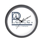 Peace to all Mankind Wall Clock