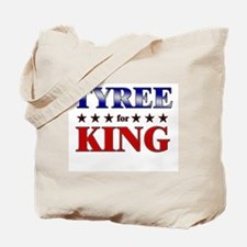 TYREE for king Tote Bag
