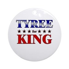 TYREE for king Ornament (Round)
