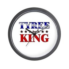 TYREE for king Wall Clock