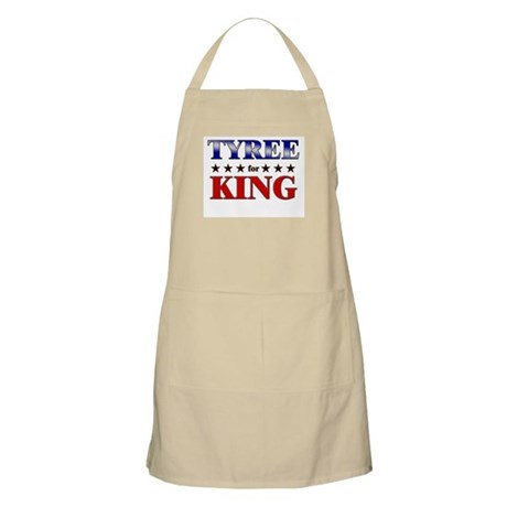TYREE for king BBQ Apron