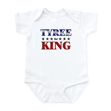 TYREE for king Infant Bodysuit
