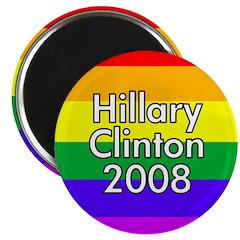 Hillary Clinton (100 Rainbow Magnets)