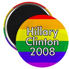 Hillary Clinton (100 Rainbow Magnets)