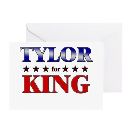 TYLOR for king Greeting Cards (Pk of 10)