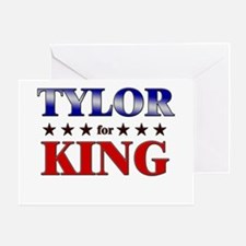TYLOR for king Greeting Card