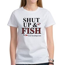 Shut Up & Fish Tee