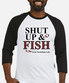 Shut Up & Fish Baseball Jersey