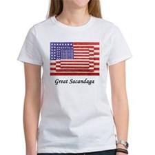 3 Flags Superimposed Tee
