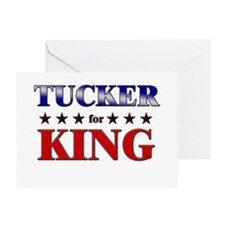 TUCKER for king Greeting Card
