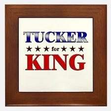 TUCKER for king Framed Tile