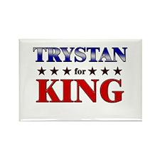 TRYSTAN for king Rectangle Magnet