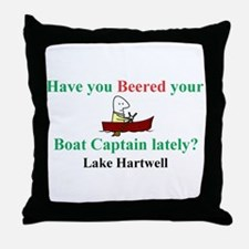 Have you Beered? Throw Pillow
