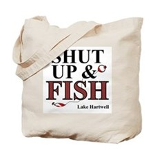 Shut Up & Fish Tote Bag