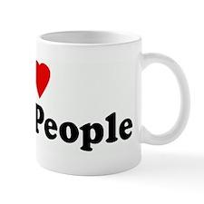 I Love Black People Coffee Mug