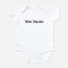 Miss. Murder Infant Bodysuit