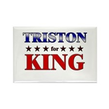 TRISTON for king Rectangle Magnet