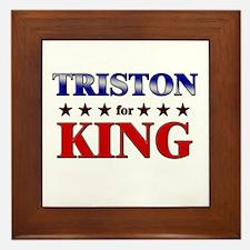 TRISTON for king Framed Tile