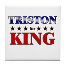 TRISTON for king Tile Coaster