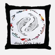 Yin & the Yang Throw Pillow