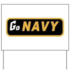 Go Navy Yard Sign