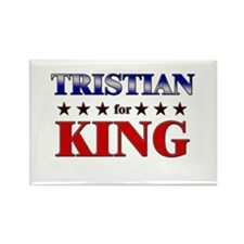 TRISTIAN for king Rectangle Magnet