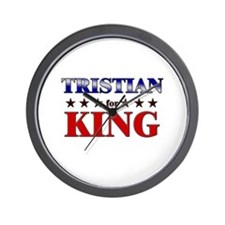 TRISTIAN for king Wall Clock