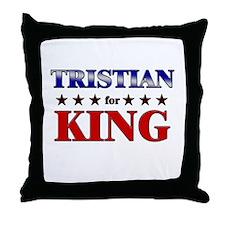 TRISTIAN for king Throw Pillow