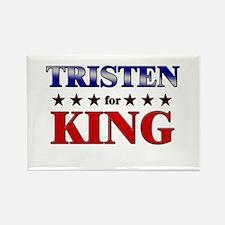 TRISTEN for king Rectangle Magnet