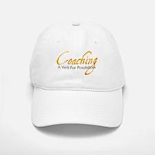 Possibilities: Orange and Gra Baseball Baseball Cap