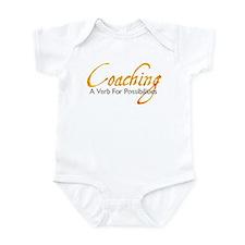Possibilities: Orange & Gray Infant Bodysuit