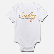 Possibilities: Orange & Gray Infant Bodysuit