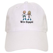 We're Engaged Baseball Cap