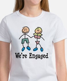 We're Engaged Women's T-Shirt