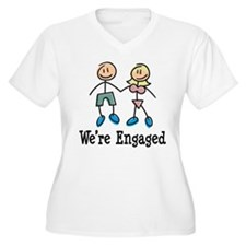We're Engaged T-Shirt