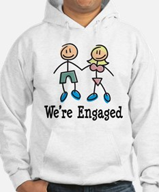 We're Engaged Hoodie