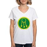 Chatelaine Women's V-Neck T-Shirt