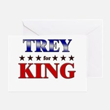 TREY for king Greeting Card
