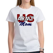 US Army Mom - Patriotic Tee