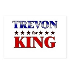 TREVON for king Postcards (Package of 8)